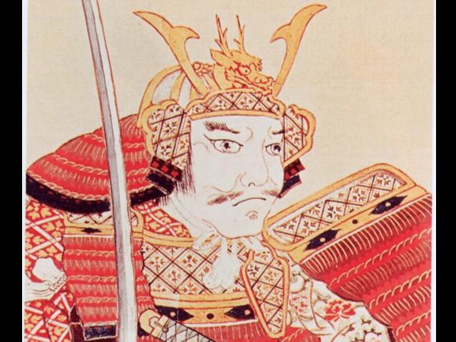 南部信直の肖像画(盛岡市中央公民館蔵)