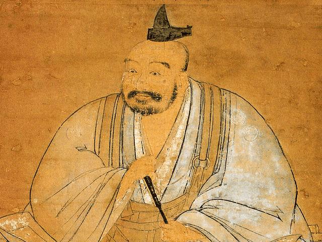 龍造寺隆信の肖像画(宗龍寺 蔵)