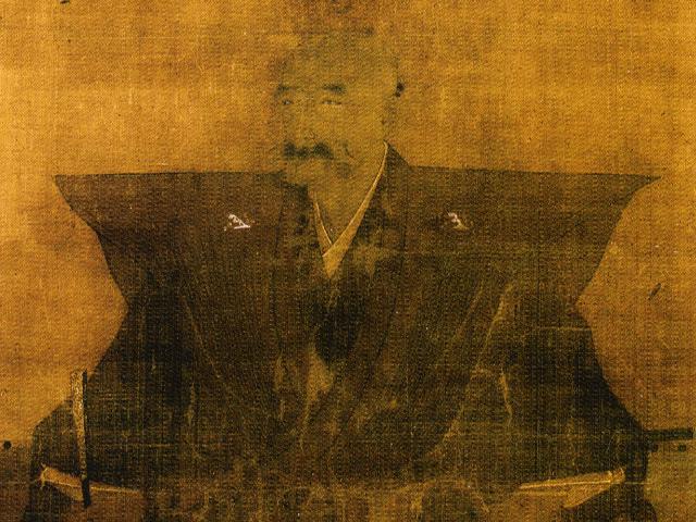 斎藤道三の肖像画(常在寺 蔵)