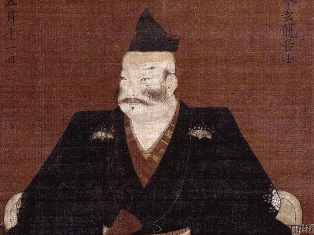 斎藤義龍の肖像画(常在寺 蔵)