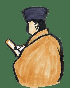 茶人・文化人のイラスト