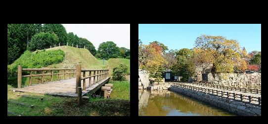 木橋と土橋