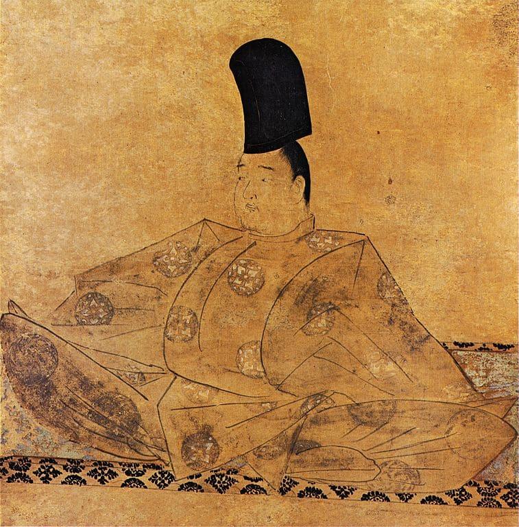 後鳥羽院の肖像画(水無瀬神宮蔵)