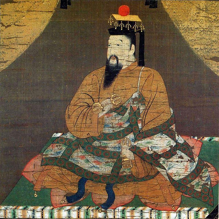 後醍醐天皇の肖像画(清浄光寺蔵)