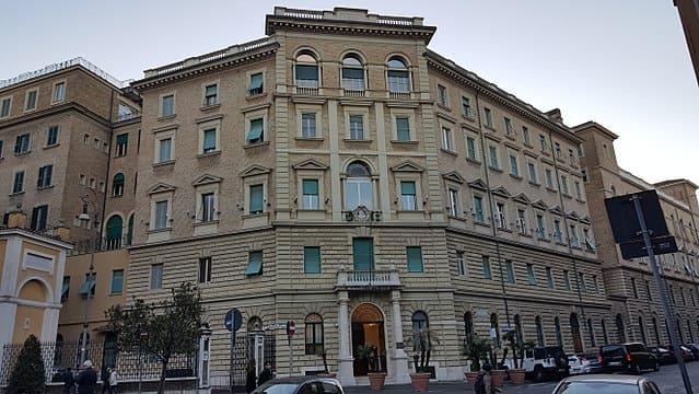 現在ローマにあるイエズス会本部