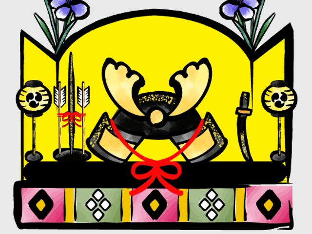 五月人形のイラスト