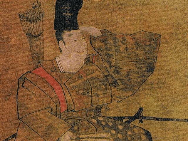 島津忠久の肖像画(尚古集成館 蔵)