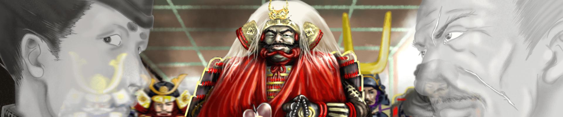 武田信玄のメインビジュアル(今川攻めで出陣する信玄)
