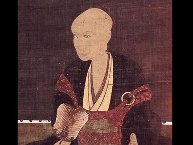 武田信虎の肖像画(武田信廉 画、大泉寺蔵)