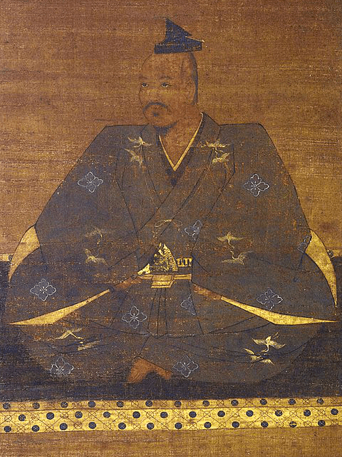 武田信玄の肖像画(高野山持明院所蔵)