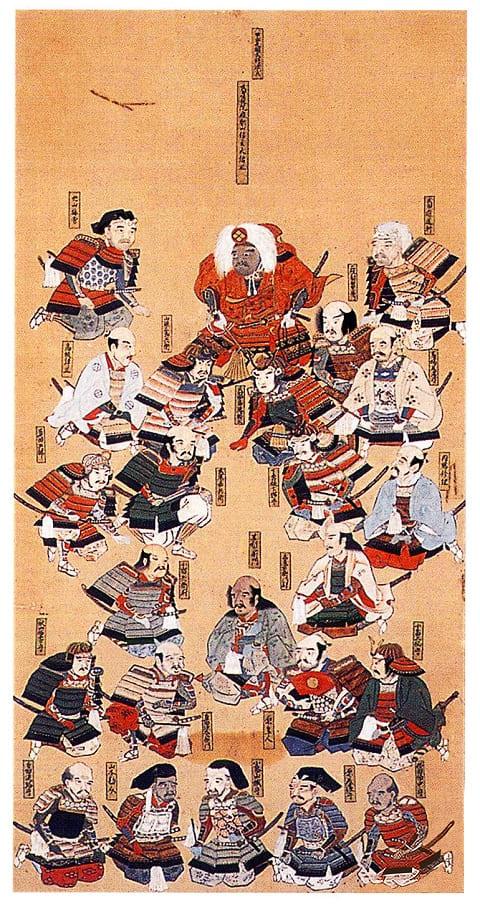 武田二十四将図(武田神社 蔵)