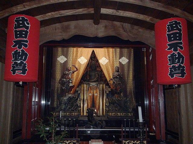武田信玄をかたどった仏像とは?