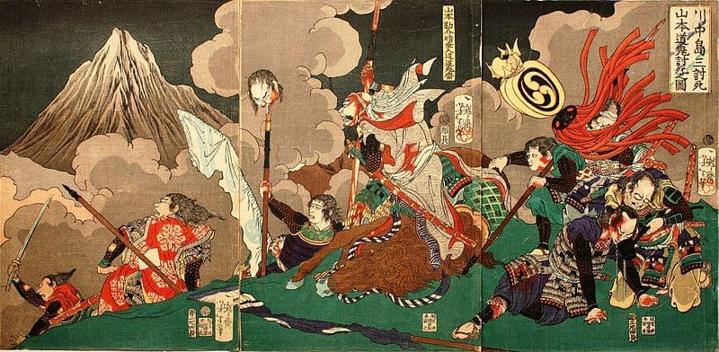 第四次川中島の戦いの先鋒で、山本勘助を討った上杉氏の猛将は?