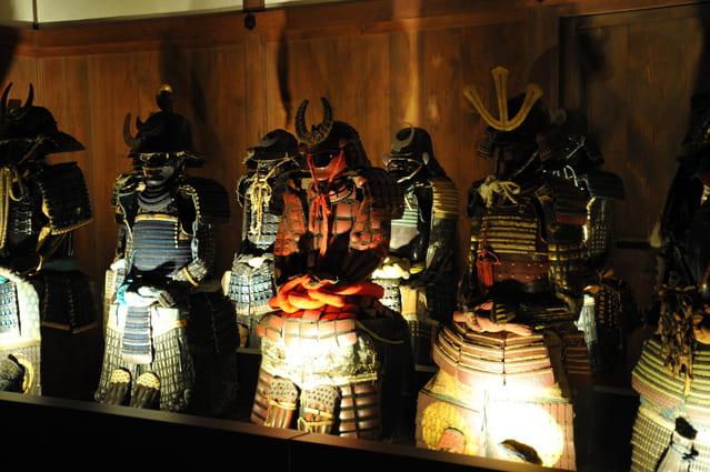 姫路城の甲冑の写真