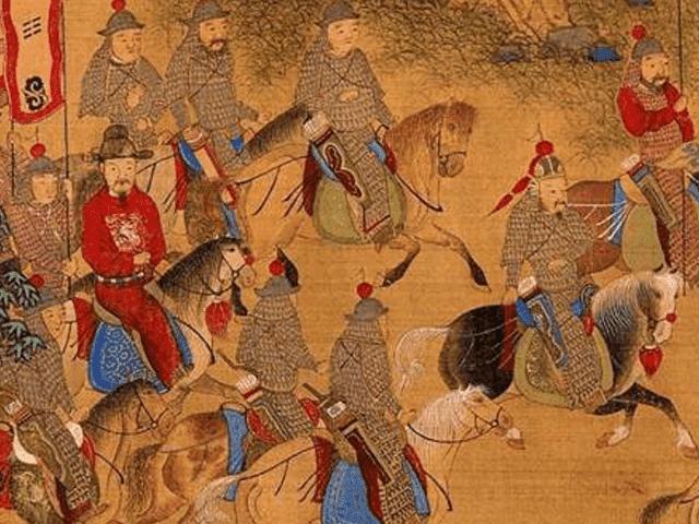 """明の兵士たち(出所:<a href=""""https://commons.wikimedia.org/wiki/File:Ming_soldiers_03.jpg"""" target=""""_blank"""">wikipedia</a>)"""
