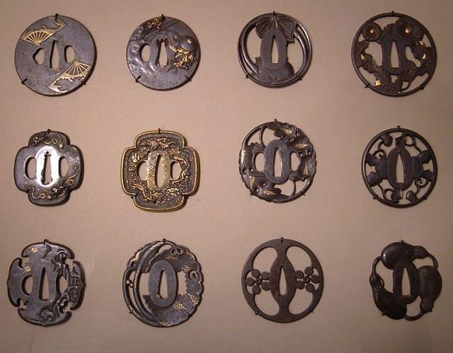 サンフランシスコのアジア美術館で展示された鍔