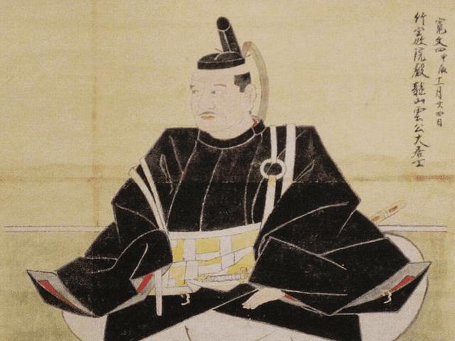 山内忠義の肖像画