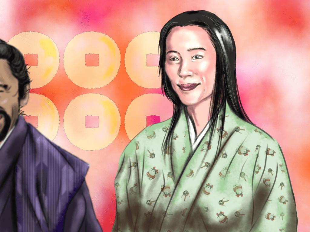 村松殿のイラスト