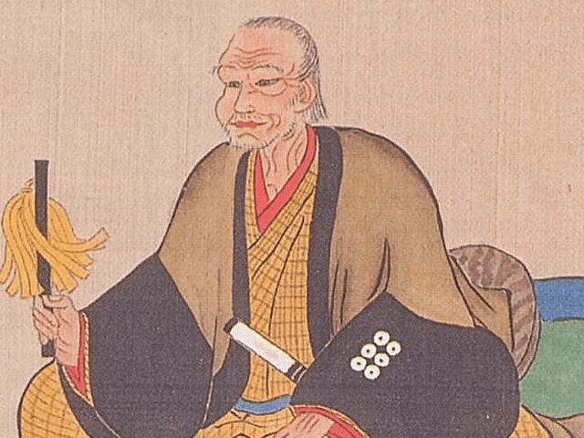 真田昌幸の肖像画(個人蔵)