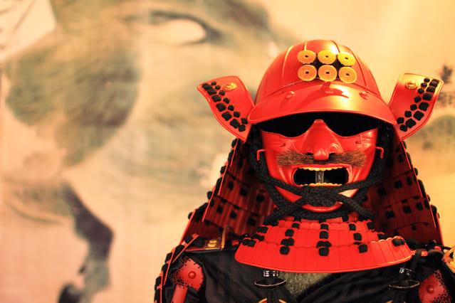 真田幸村のレプリカ甲冑
